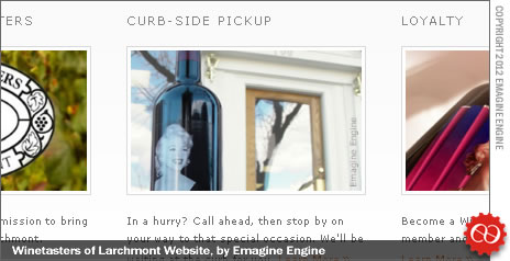 Winetasters Site with Emagine Engine photography